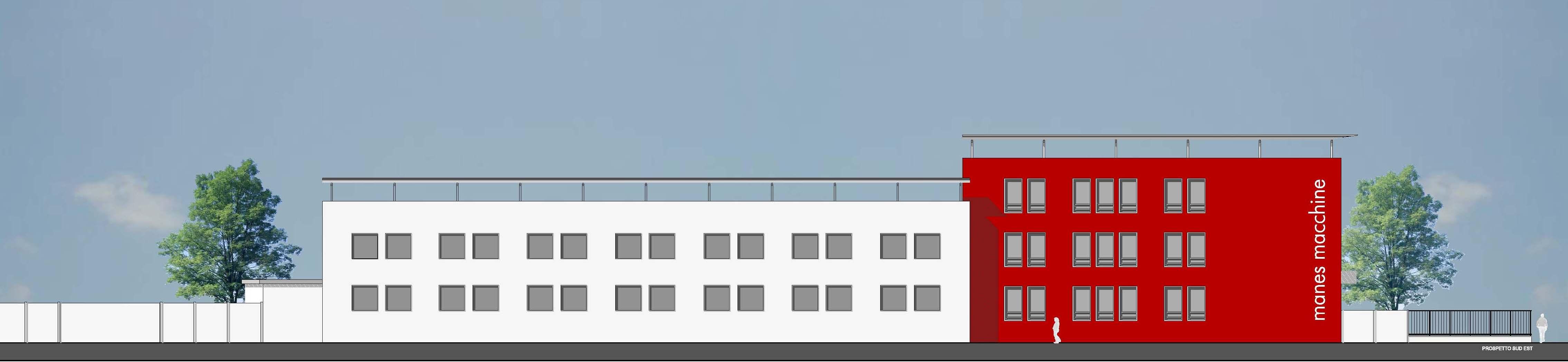 Ristrutturazione capannone con annessa palazzina uffici for Capannone moderno